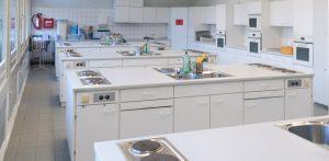 Küche der Sprottenschule