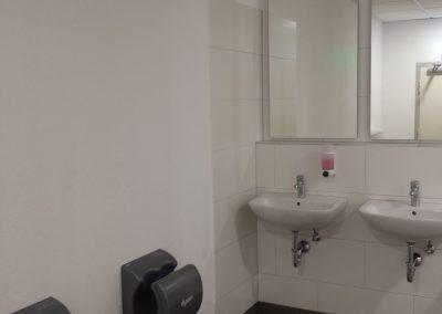 Toiletten Waschbereich
